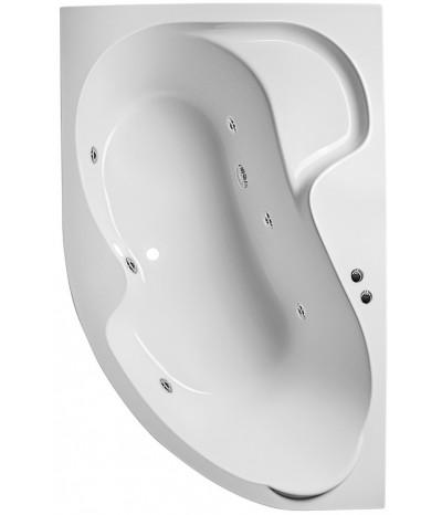 Гидромассажная ванна 1 Марка Aura 160x105  (Левая)