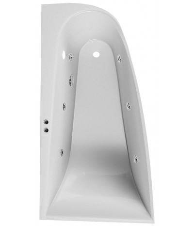 Гидромассажная ванна Boomerang Vayer 170x90 (Левая)