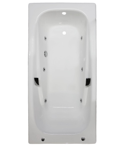 Гидромассажная ванна Aqualux 24C-2 (Artex Repo) 180x85