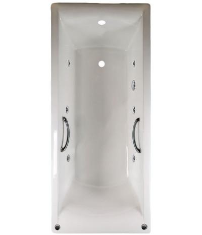 Гидромассажная ванна Castalia Prime 180x80 (с ручками)