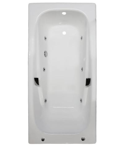 Гидромассажная ванна Goldman Art 180x85