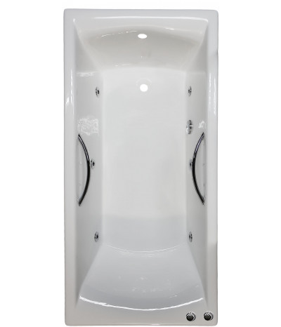 Гидромассажная ванна Goldman Elite 170x75