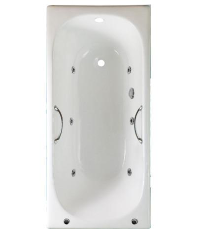 Гидромассажная ванна Timo Standard 3V 150x70 (с ручками)