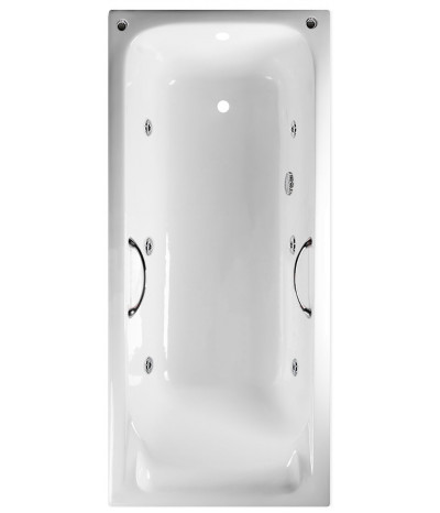 Гидромассажная ванна Timo Tarmo 180x80 (с ручками)