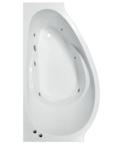 Гидромассажная ванна Эстет Грация 170x94 (Левая)