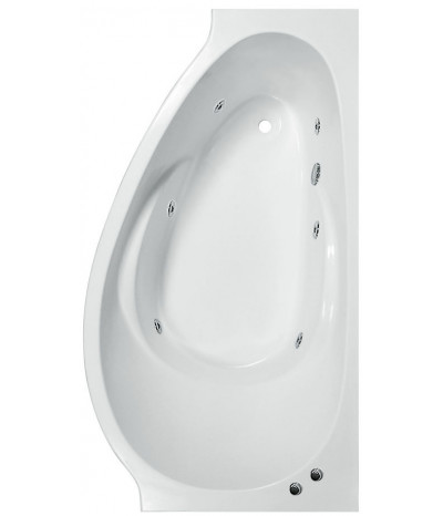 Гидромассажная ванна Эстет Грация 170x94 (Правая)