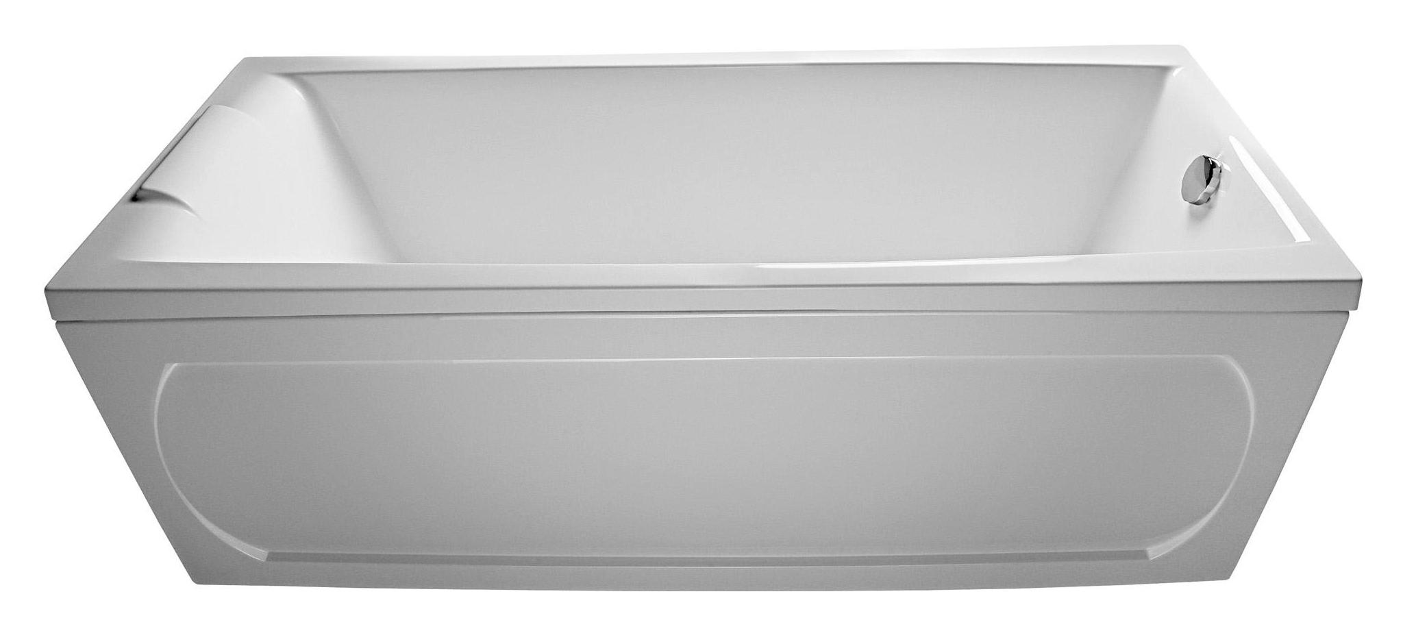Ванна 1MarKa Aelita 170x75 с гидромассажем и массажем спины