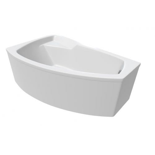 Ванна 1 Марка Assol 160x100 (Правая) с гидромассажем и массажем спины