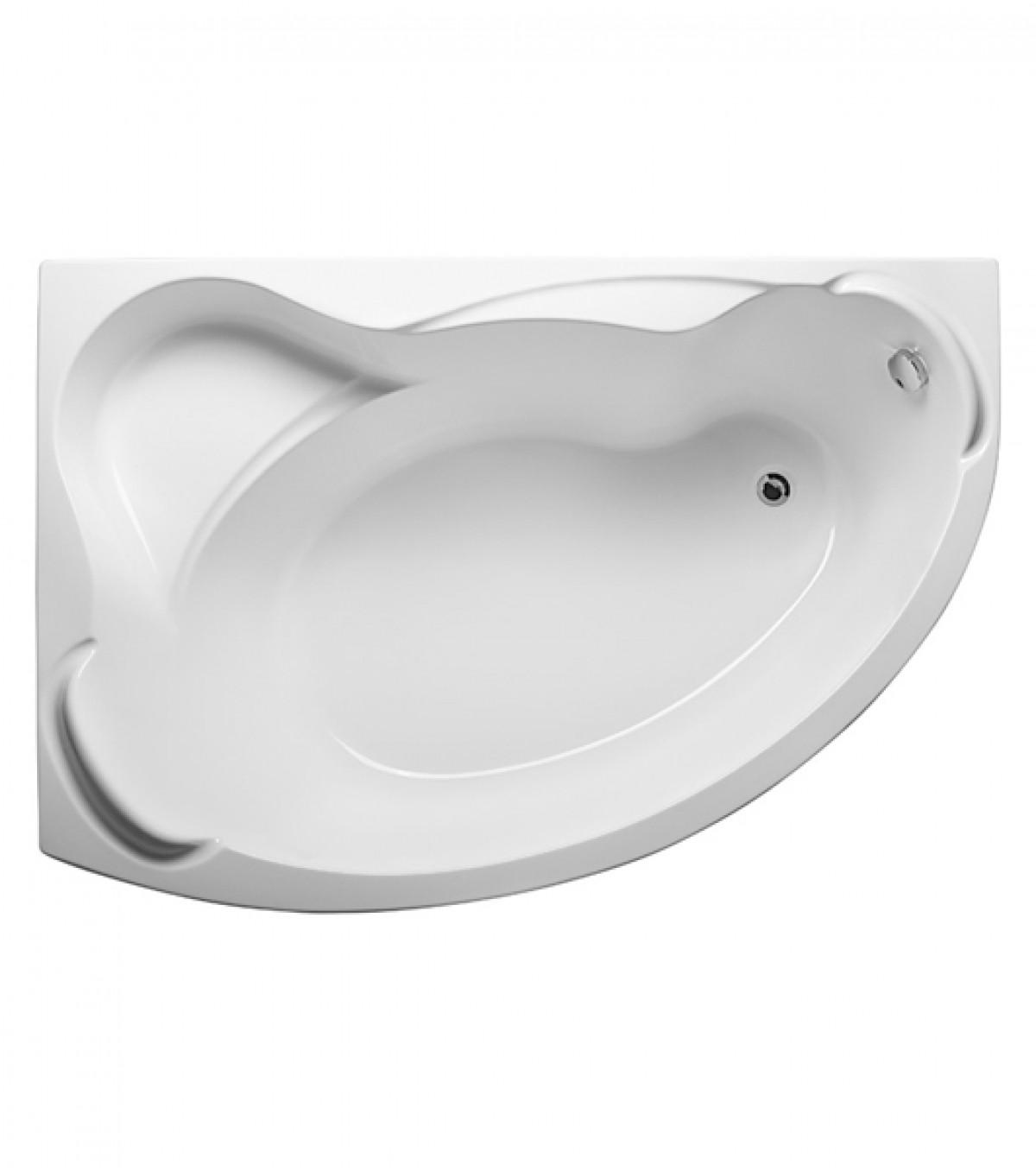 Ванна Catania 160x110 (Правая) без гидромассажа