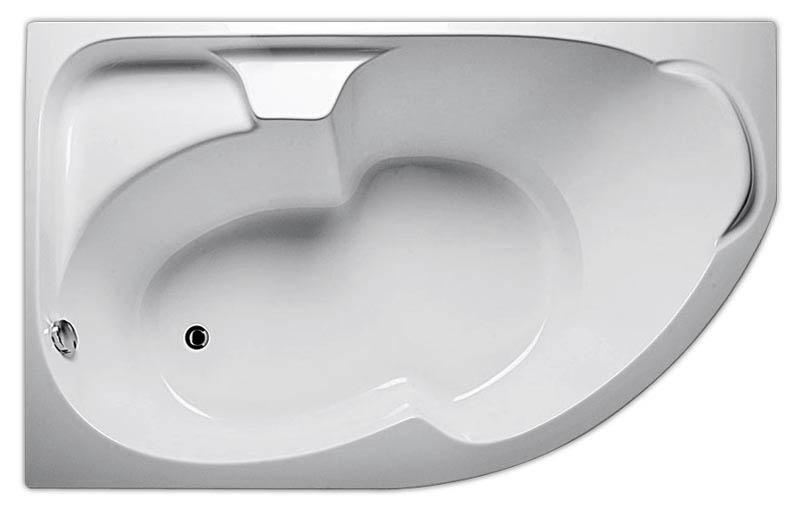 Ванна Diana 160x100 (Правая) без гидромассажа
