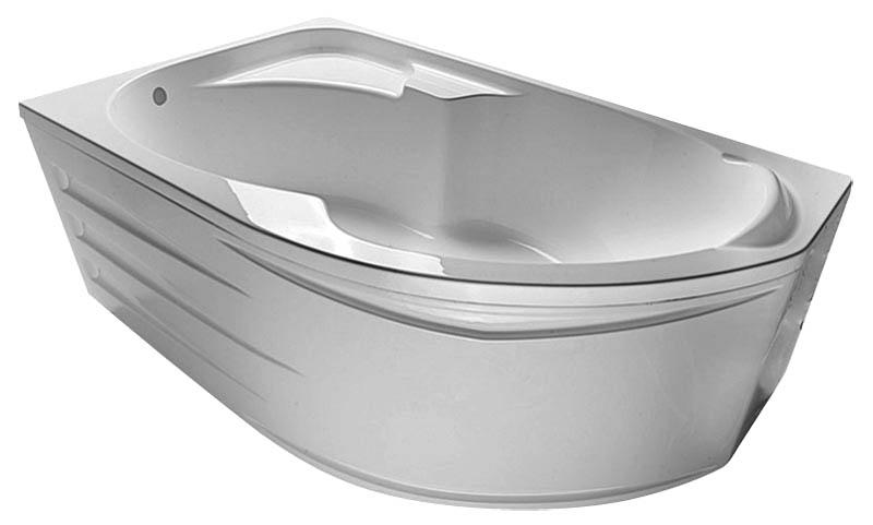 Ванна 1 Марка Diana 160x100  (Правая) с гидромассажем и массажем спины
