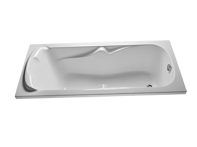 Ванна 1MarKa Dipsa 170x75 с гидромассажем и массажем спины