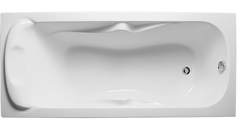Ванна 1MarKa Dipsa 170x75 без гидромассажа