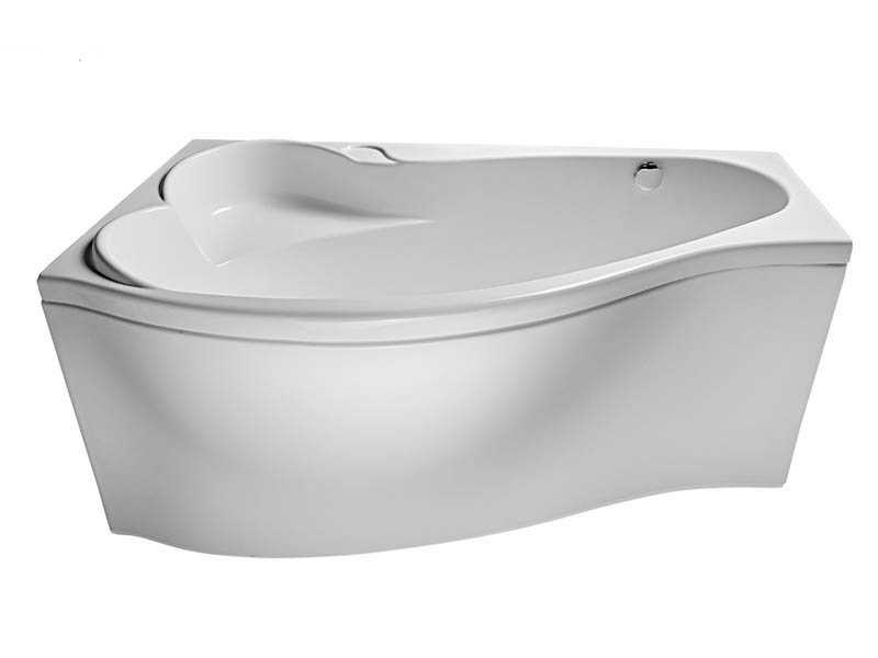 Ванна 1 Марка Gracia 160x95 (Правая) с гидромассажем и массажем спины