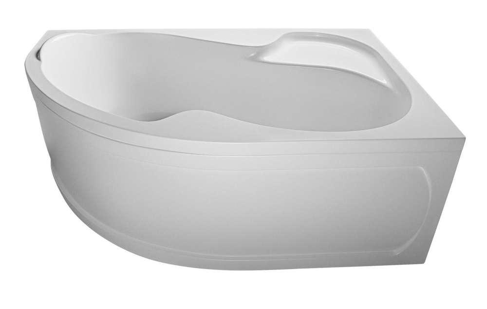 Ванна 1 Марка Aura 160x105  (Левая) с гидромассажем и массажем спины