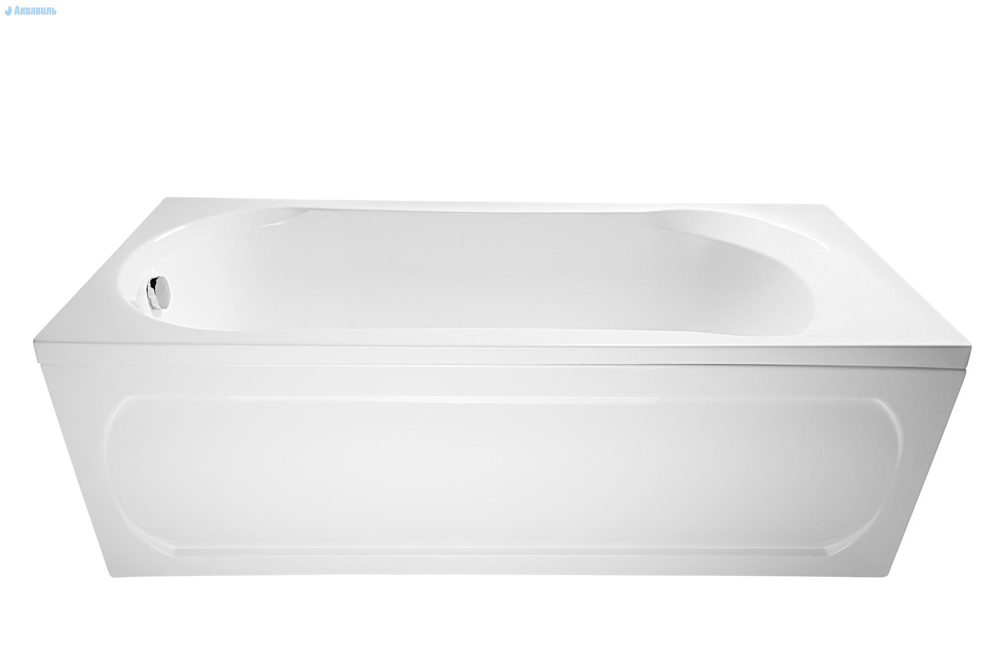 Ванна 1MarKa Libra 170x70 с гидромассажем и массажем спины