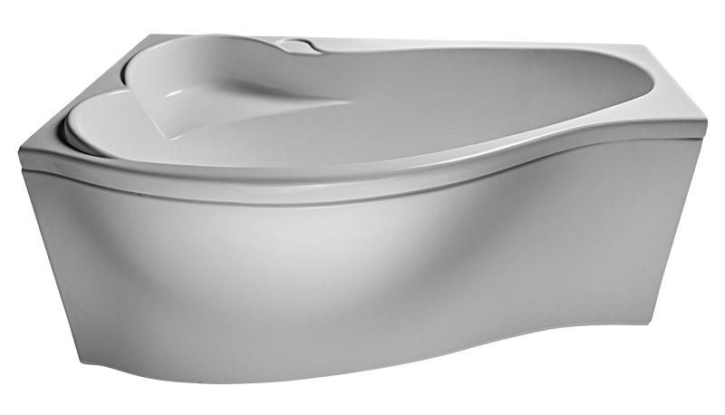 Ванна Relisan Isabella 170x90 с гидромассажем и массажем спины