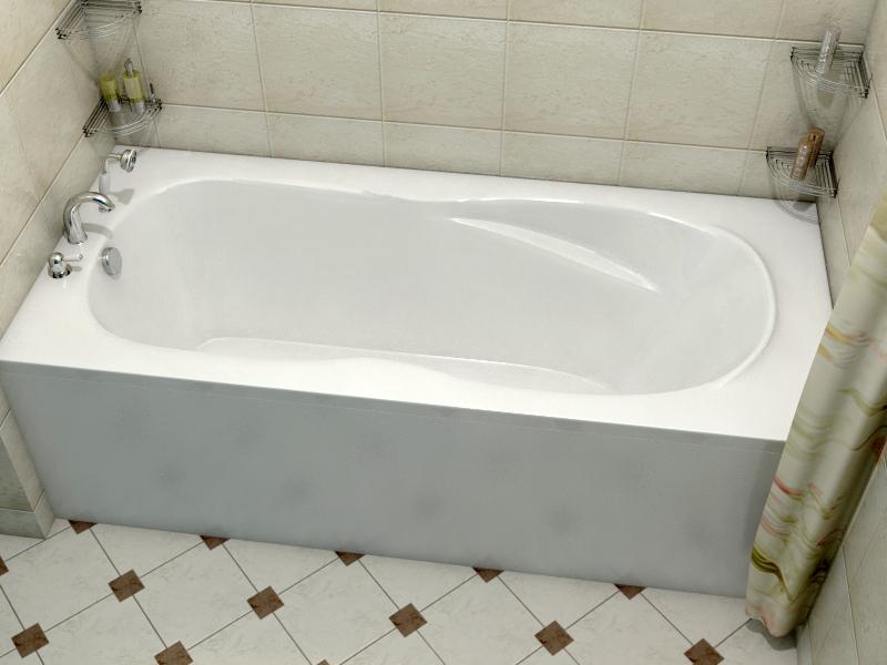 Ванна Relisan Neonika 150x70 с гидромассажем в комплектации Basic