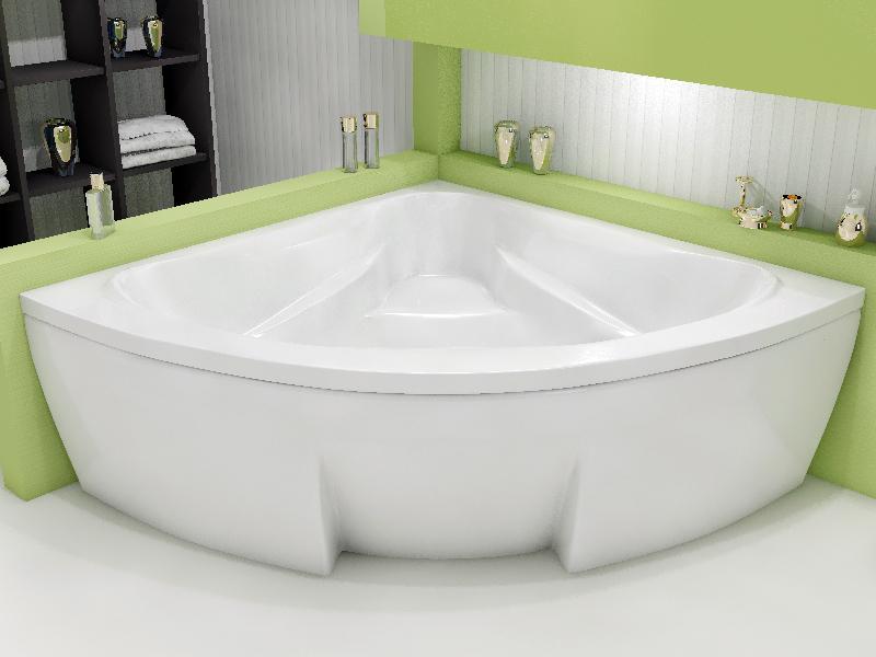 Ванна Relisan Rona 130x130 с гидромассажем в комплектации Basic