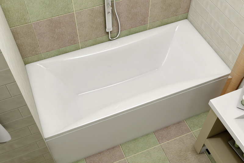Ванна Relisan Xenia 180x80 с гидромассажем в комплектации Basic