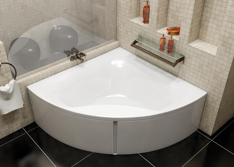 Ванна Vayer Gaja 150x150 с гидромассажем в комплектации Basic