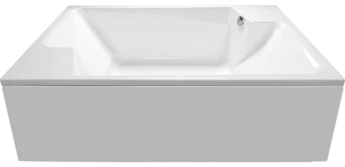 Ванна Vayer Ontario 190x125 с гидромассажем и массажем спины