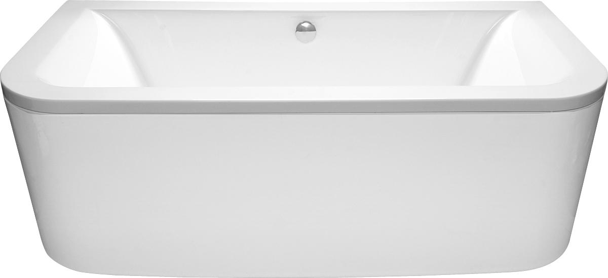 Ванна Vayer Options BTW 180x85 с гидромассажем и массажем спины