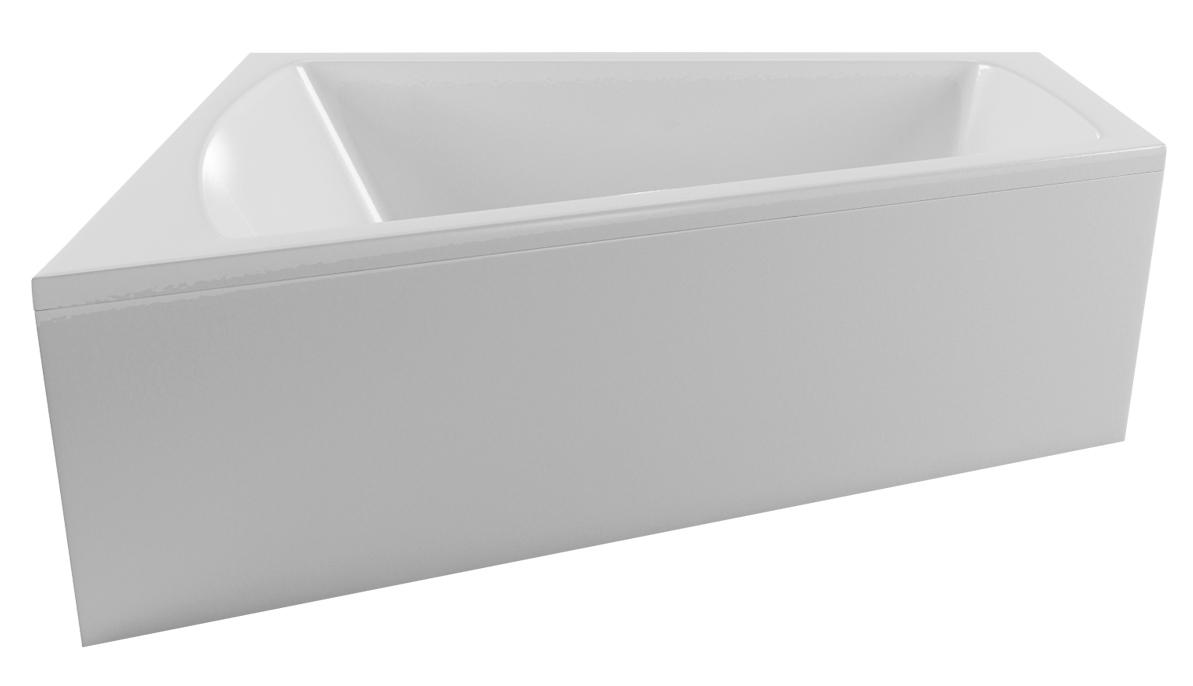 Ванна Vayer Trinity 160x120 (Левая) с гидромассажем и массажем спины
