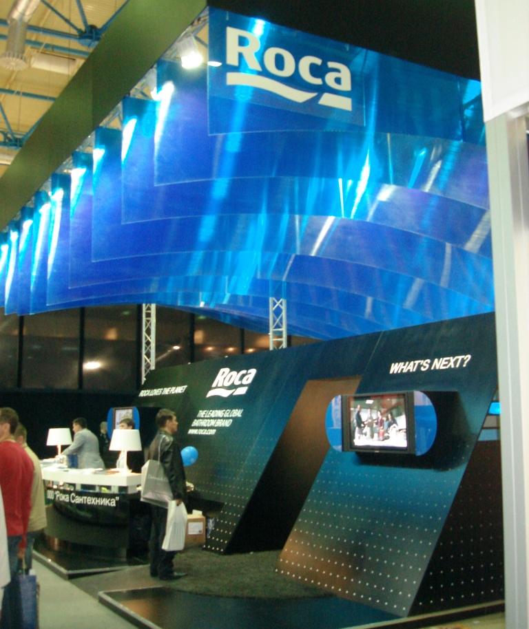 Выставка сантехники Roca в Москве