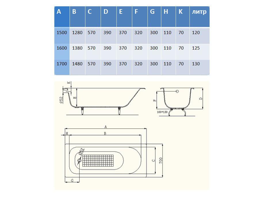 Схема ванна Artex Cont 160