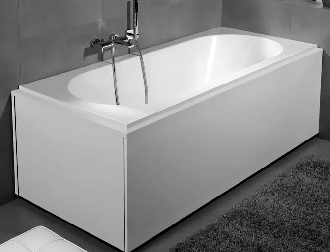 Квариловая ванна Villeroy & Boch Cetus с гидромассажем и массажем спины