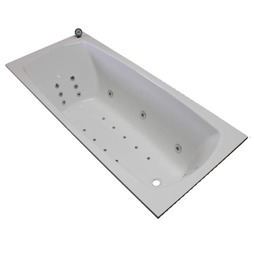 Квариловая ванна Villeroy & Boch My Art с гидромассажем и массажем спины