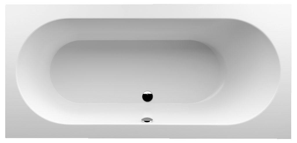 Квариловая ванна Villeroy & Boch Oberon без гидромассажа